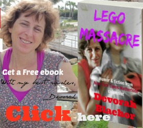Devorah Blachor, humorist, novelist, essayist, offers a free ebook to subscribers